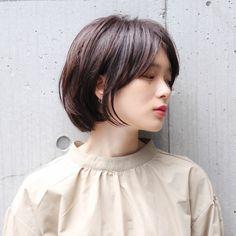 Girl Short Hair, Short Curly Hair, Short Hair Cuts, Medium Hair Styles, Curly Hair Styles, Middle Hair, Korean Short Hair, Shot Hair Styles, Girls Short Haircuts