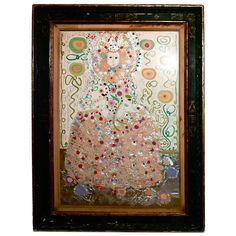 Gloria Vanderbilt Mixed Media Collage -