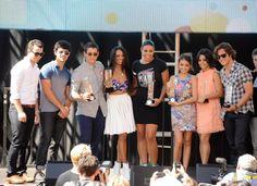Variety Power of Youth 2012 Honors Jonas Brothers Jordin Sparks, Sarah Hyland, Vanessa Hudgens, Diego Boneta, Kat Graham