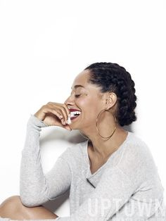 TRACEE ELLIS ROSS IN A PROTECTIVE STYLE