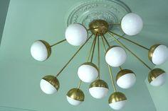 Little Green Notebook: My Favorite Brass Lighting  Lucent light shop