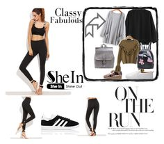 """""""Untitled #31"""" by aidabeganovic ❤ liked on Polyvore featuring adidas"""