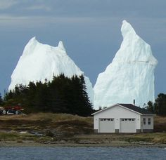 Icebergs in NewFoundLand,Canada Newfoundland Canada, Newfoundland And Labrador, Newfoundland Icebergs, The Beautiful Country, Beautiful Places, Canada Eh, Island Tour, England And Scotland, Canada Travel