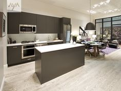 aya kitchens canadian kitchen and bath cabinetry manufacturer kitchen design professionals manhattan anthracite - Manhattan Kitchen Design