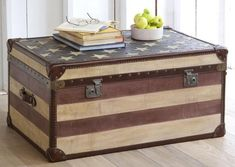 40 Ways to Enhance Room Decor with Chests and Trunks in Vintage Style