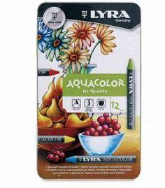 Lyra Aquacolor Pastel Boya Sulandırılabilir 12 Renk