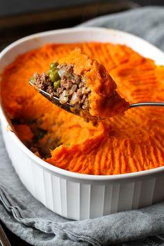 Sweet Potato Bison Shepherd's Pie Recipe {Healthy New Year Challenge - Week 3} - Cookin Canuck FoodBlogs.com