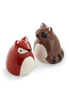 First and Forest Shaker Set, #ModCloth  These would go great with my little bird S+P shakers! So cute :)