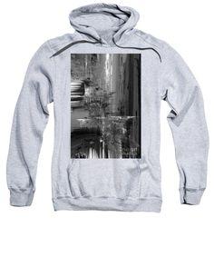 Sweatshirt - Waterfall In Black And White