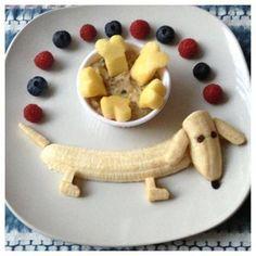 Kids fun foods, fun meals for kids, cute kids snacks, kids meals ideas Toddler Meals, Kids Meals, Toddler Food, Healthy Kids, Healthy Snacks, Healthy Breakfasts, Dessert Healthy, Healthy Cake, Healthy Nutrition