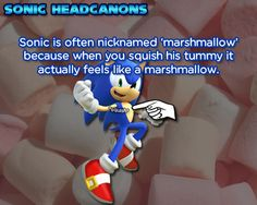 ☆ Sonic Headcanons ☆  Omg I am crying that is adorable ~