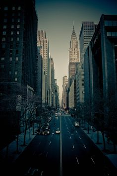 42nd street in New York City.