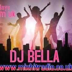 DJ_BELLA  @DJ_BELLA_ IRISH DJ #DJ of many music genres #rave #happyhardcore #oldskool #techno #DnB listen to me Thursday 6-8pm uk http://www.mixhitradio.co.uk    Ireland facebook.com/djbellaboo/