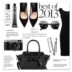 """Casual black"" by janee-oss ❤ liked on Polyvore featuring Dolce&Gabbana, Zara, NARS Cosmetics and BOBBY"