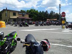 il mitico chalet, ritrovo di motociclisti tosco-emiliani