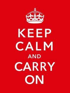 Keep Calm Carry On British War Photo Mug Hot Cocoa Gift Basket