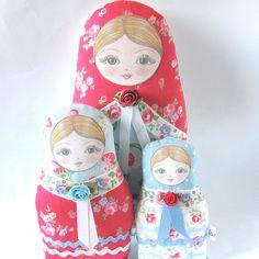 Fabric Dolls by Zouzou Design