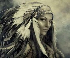 NATIVE AMERICANS TODAY - Google+ Native American Drawing, Native American Tattoos, Native Tattoos, Native American Headdress, Warrior Tattoos, American Indian Girl, Native American Girls, Native American Pictures, Native American Beauty