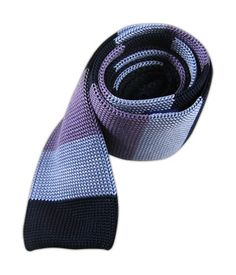 Knit Master Stripe - Navy/Light Blue/Lavender
