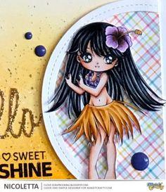 Make It Crafty- Hello Sunshine.    Skin: E0000/E000/E00/E11/E13/BV31/R20 Hair: 100/C9/C7/C4/C3/C1 Eyes: G29/G24 Outfit: YR27/YR24/YR23/YR21/YR20/Y17/V17/V15/V12/BV08