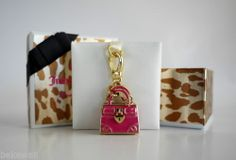 NWT Juicy Couture Pink Daydreamer Charm Limited Edition 2014 Pink Gold YJRU7335