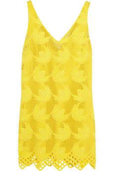 Macramé cotton dress by Marni Color Pop App, Colour, Marni, Cotton Dresses, Sunshine, Yellow, Outfits, Shopping, Fashion