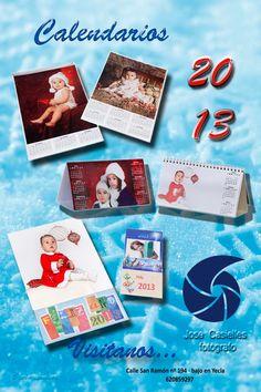 José Casielles fotógrafo en Yecla te presenta sus ofertas en Calendarios para comercios y empresa, ven e infórmate !!!