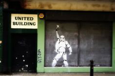 Saturday Night Fever Stormtrooper in Manchester
