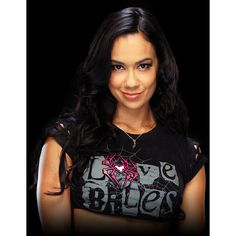 AJ Lee ❤ liked on Polyvore featuring wwe