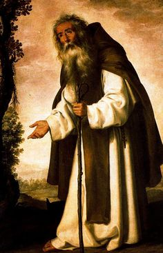Anthony Dispirited, 1640 by Francisco de Zurbaran Caravaggio, Francisco Zurbaran, Anthony The Great, San Antonio Abad, Poster Size Prints, Art Prints, Spanish Art, Religious Paintings, Spanish Painters