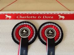 Ideas for your Horse show Rosettes   Horse rosette holder