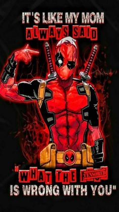 Screen Wallpaper red Marvel comics DEADPOOL lock screen wallpaper background for iPhone and Android p. Marvel comics DEADPOOL lock screen wallpaper background for iPhone and Android phones. Cute Deadpool, Deadpool Art, Deadpool And Spiderman, Deadpool Movie, Deadpool Quotes, Spiderman Cute, Marvel Comics, Deadpool Wallpaper, Lock Screen Wallpaper
