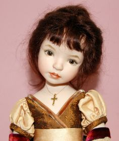 Dianna Effner Doll 12 in all porcelain doll
