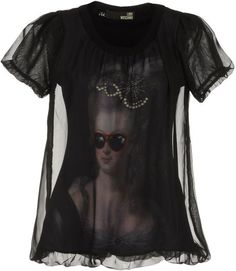 LOVE MOSCHINO Short Sleeve Tshirt - Lyst