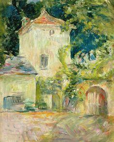 Pigeon Loft At The Chateau Du Mesnil - Berthe Morisot ...