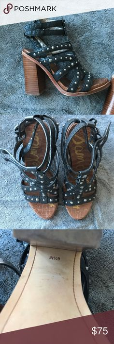 Sam Edelman heels Only worn a few times! Trendy heels in great condition Sam Edelman Shoes Heels
