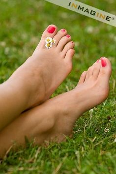 Really enjoy having fresh, soft feet and painted toes in the summer.