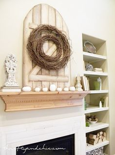 I'd love this in old weathered barn-wood!