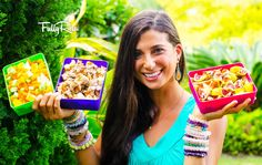 Need some fun and easy raw food healthy lunchbox ideas?! You will LOVE these FullyRaw School Lunchbox Sets! http://youtu.be/EzJ8VFqSbzA Whether you're a kid ...