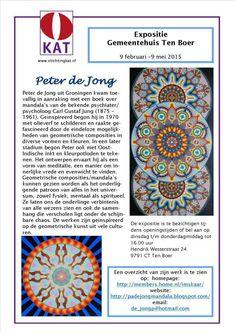 P.A. de Jong Mandala homepage
