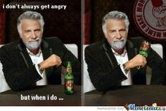 anger issues?