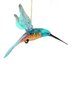 Another great find on Blue & Red Glass Hummingbird Ornament Shades Of Turquoise, Glass Figurines, Glass Animals, Glass Flowers, Red Glass, Hummingbird, Pet Birds, Vibrant Colors, Arts And Crafts