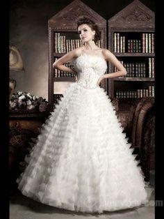 Wholesale Glamorous Ball Gown  White Wedding Dresses on Everytide$257.99