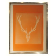 Custom Silkscreen Antler