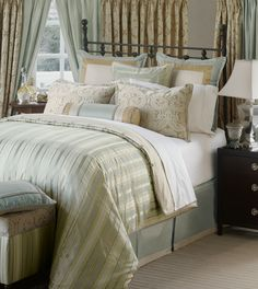 Luxury Bedding by Eastern Accents - Evora Collection