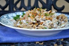 The view from Great Island: Pasta with Walnut Sauce