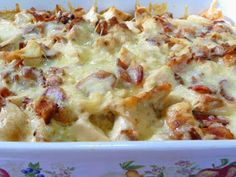 SPLENDID LOW-CARBING BY JENNIFER ELOFF: CHICKEN FLORENTINE CASSEROLE