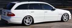 Another super wagon. E55 AMG
