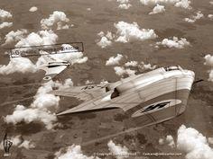 Horten Ho 229 Flying Wing Fighter