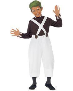Oompa Loompa Boys Costume